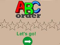 ABC字母顺序游戏