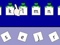 字母顺序填空