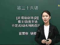 英语语法入门 第36讲 非谓语动词(2)